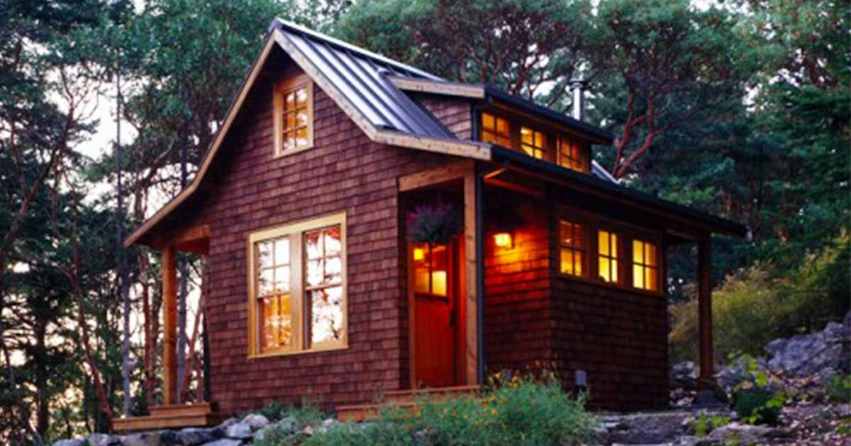 Meet The Orcas Island Cabin 400 Square Feet Of Enchanting