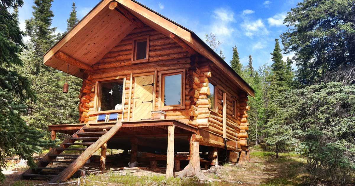 Beautiful Alaska Log Cabin Is A Perfect Summer Retreat