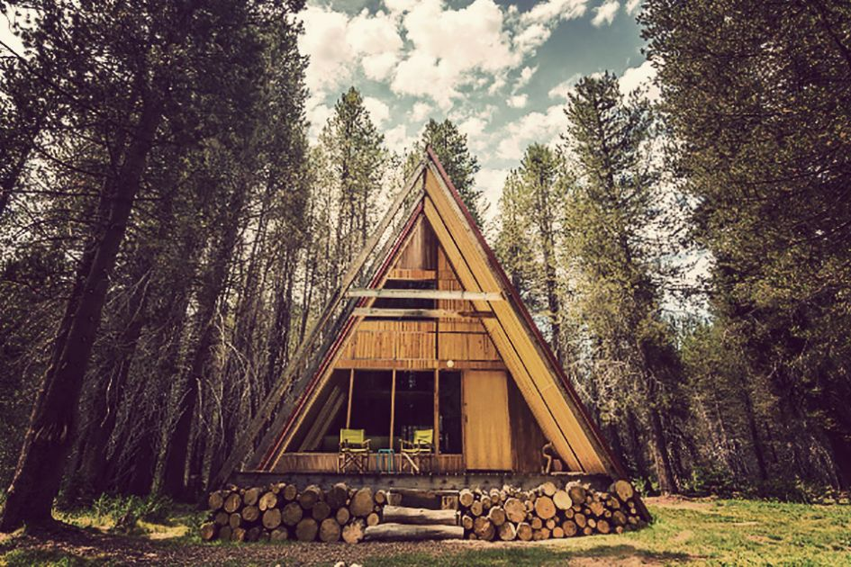 Discover This Yosemite A Frame Cabin The Minimalist Main